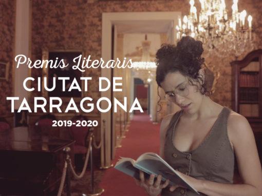 Premis literaris Ciutat de Tarragona 2020