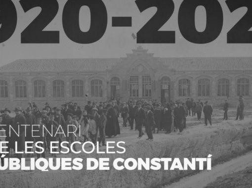 Centenari de les Escoles Públiques de Constantí